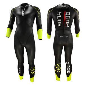 2021 HUUB Kinetic Mens Wetsuit Swimming Triathlon Training Open Water Tri Swim