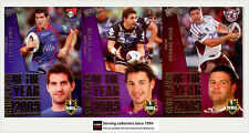 2011 Select NRL Strike Card Series Club Player Of The Year Subset Full Set (32)