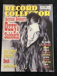 record collector magazine Dec 2002 Ozzy Osbourne, Rod Stewart, Beck, Madness