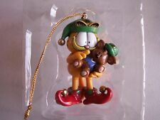 NIB Garfield Ornament Garfield as an Elf 20 Years of Garfield Party