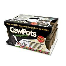 CowPots #3 SixCell tray 16 trays = 96 planting cells