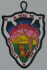 Lodge 221 Muscogee  A2 NOAC 1994 Pocket Patch  OA  BSA