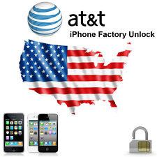 FACTORY UNLOCK SERVICE CODE ATT IPHONE 5 5S 5C 4 4S 6 6+ 3 3GS AT&T IMEI- FAST