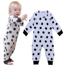Newborn Infant Baby Girls Boys Clothes Romper Bodysuit Jumpsuit Toddler Outfits