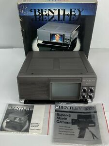 Bentley BX-11 Super 8 Home Movie Projector With Original Box & Manual - Works