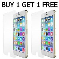 2x 100% Genuine Tempered Glass Screen Protector For Apple iphone 6S & 6 Plus