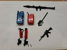 RC Rock Crawler Toole Set Extinguishers Fuel Cans AK47 Bazooka Army Jeep Tank