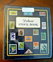 CatalinaStamps: World Wide Collection in Deluxe Stock Book, 252 Stamps, Lot D109