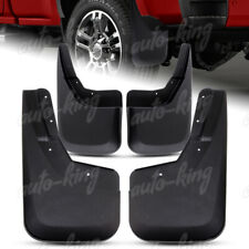 FIT CHEVY SILVERADO 1500 2500 3500 FRONT+REAR MOLDED MUD FLAPS SPLASH GUARDS 4PC