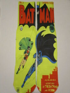 BATMAN socks FREE Random WEAPON Keychain novelty footwear like ODD SOX Style B