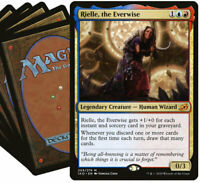 Blue Red RIELLE Commander Deck | 100 Card | Magic the Gathering EDH MTG
