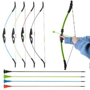 15lbs Youth Takedown Recurve Bow Kit Sucker Arrows Practice Archery Game Gift