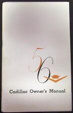 1956 Cadillac Owners Manual Series 60 62 75 DeVille Eldorado Fleetwood