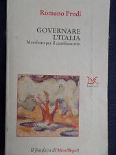 Governare l'Italia - Manifesto per il cambiamento -Romano Prodi- 1995 -S6