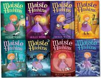 Holly Webb Maisie Hitchins Series Collection 8 Books Set Secret Tunnel Paper NEW