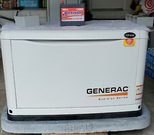Brand new Generac 17kW Whole House Generator/ genpad/ battery/ manuals/hose/ box