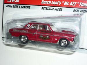 "Hot Wheels Drag Strip Demons - Butch Leal's ""Mr. 427""  - Ford Thunderbolt"