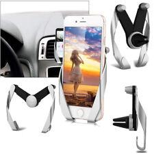 PORTA CELLULARE SUPPORTO DA AUTO PER BOCCHETTE ARIA PER APPLE IPHONE 6S 7 8 PLUS