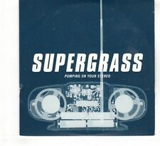 (HE983) Supergrass, Pumping On Your Stereo - 1999 DJ CD