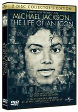 Michael Jackson: The Life Of An Icon DVD, 2 Disc Collectors Very Good Condition