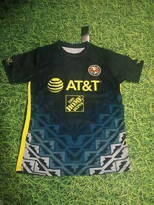 New Club Aguilas Del America  Jersey Playera Blue