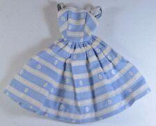 Vintage Barbie Suburban Shopper #969 (1959-1964) Blue & White Sundress