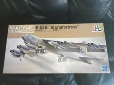Italeri 1/72nd scale Boeing B52 G Stratofortress Gulf War 25th Anniversary. New