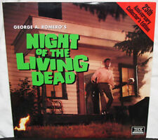 NIGHT OF THE LIVING DEAD - 1968 - George Romero's Horror Classic - Laserdisc