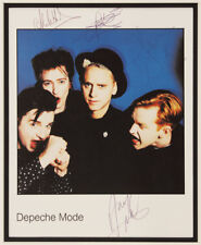 DEPECHE MODE Signed Photograph - Rock / Pop Indie Band - Preprint