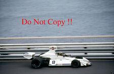 Carlos Pace Brabham BT44B de Martini Racing Monaco Grand Prix 1975 fotografía 2