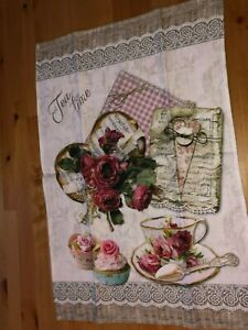 100% Cotton tea towels, beautiful prints, made in Italy