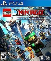LEGO Ninjago Movie Video Game (Sony PlayStation 4 PS4, 2017) Manual included
