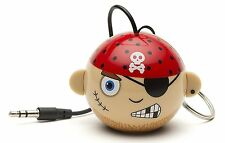 KitSound Mini Buddy Wired Pirate Speaker - Rechargeable✓ Portable✓