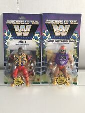 WWE MOTU Masters Of The Universe Mr. T & Macho Man Randy Savage Lot Of 2 Figures