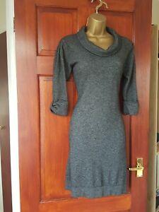 Jaeger Wool Grey Jumper  Dress Size 10