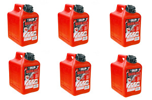 (6) Midwest 1 Gallon Gas Cans