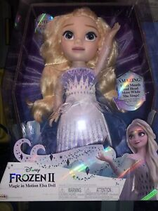 Brand New Disney Frozen 2 Magic In Motion Elsa Doll