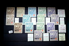 #7366,1929 Seldom Seen MNH Portugal Tuberculosis Stamps Some Overprints(Algarve)