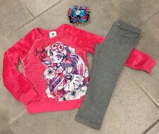 Girls Monster High Three Piece Outfit Size 5-6 (H96)