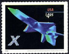 Scott #4018 $4.05 X-Plane Self-Adhesive Priority Mail Issue - MNH