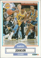 Lot of 40 Magic Johnson 1990 Fleer  #93 Card  LA Lakers