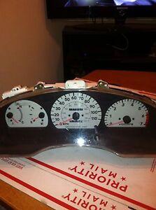 96 97 98 99 Toyota Paseo Tercel Instrument Tachometer Gauge Speedometer Cluster