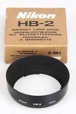 Nikon HB 2, Gegenlichtblende mit Bajonettfassung