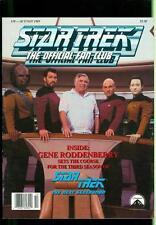 1989 Star Trek Official Fan Club Magazine: Gene Roddenberry- 3rd Season-Next Gen