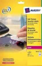Avery Laser Anti-Tamper Resistant 48 Labels Per Sheet 20 Pack L6113 New