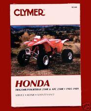 New Honda ATC/TRX 250R 85-89 Clymer Shop/Repair Manual