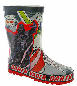 StarWars Wellingtons Boots STAR WARS Darth Vader Boys Wellies UK 9 -1