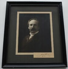Philadelphia Orchestra Fritz Scheel First Conductor Signed Photograph Autograph