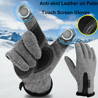 Winter Waterproof Thermal Touchscreen Gloves Outdoor Sports Ski Gloves Women Men