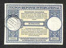 IRC INTERNATIONAL REPLY COUPON GERMANY 50PF TYPE B7 1957